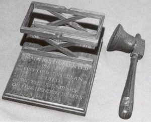 Guild Gavel and Stand